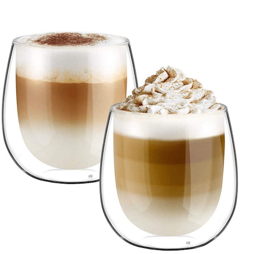 Glastal Double Walled Coffee Glasses