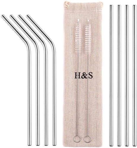 H&S Metal Straws