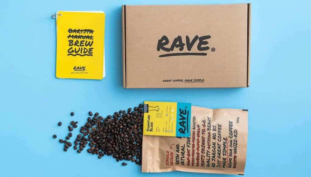 Rave Coffee Review Subscription Box