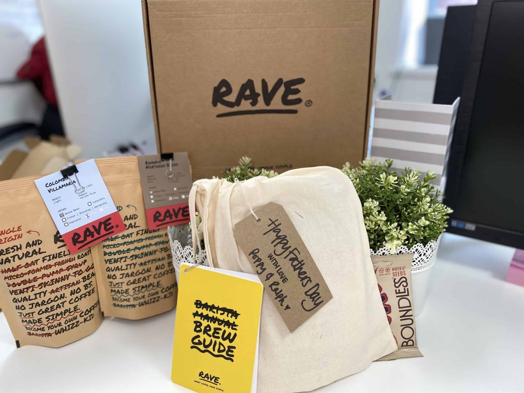 Rave Coffee Subscription Fathers Day Coffee Gift