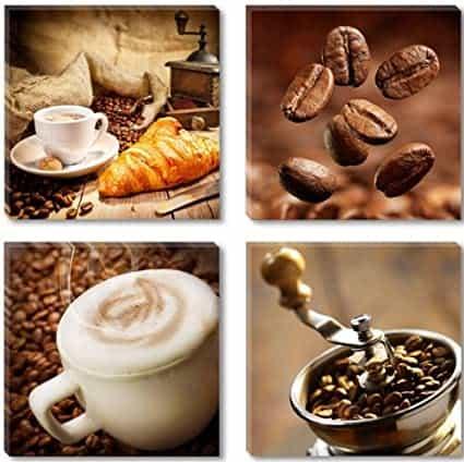 Visario 6603 Coffee Canvas Four Piece