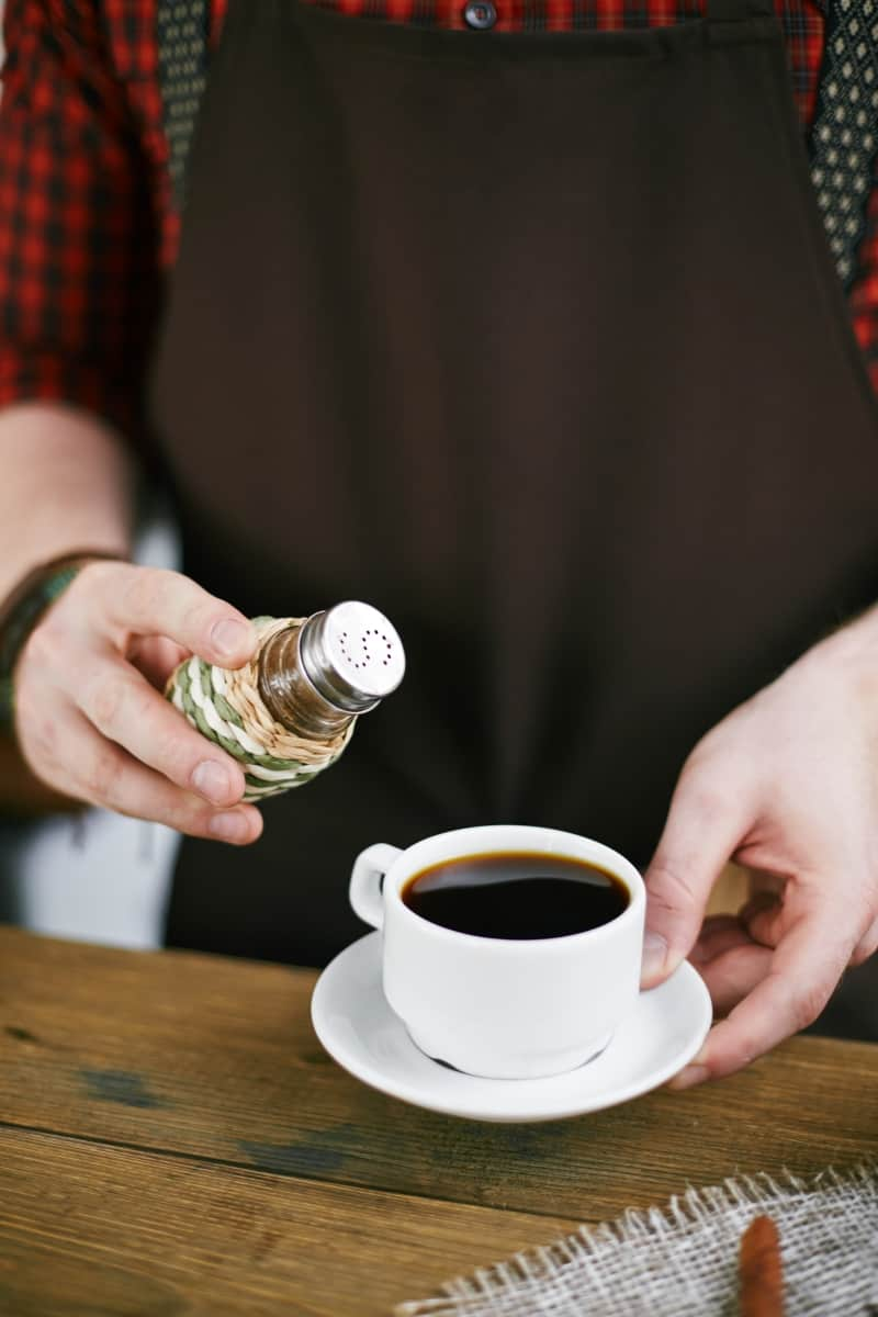 why put salt in coffee