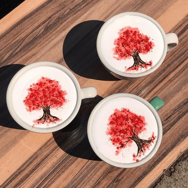 cherry tree instagram idea