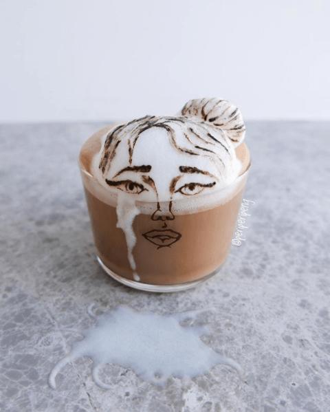 interesting latte art ideas