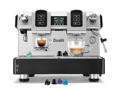 Dualit Café Pro Capsule Coffee Machine
