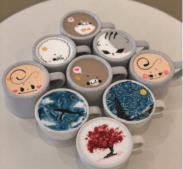 best latte art ideas