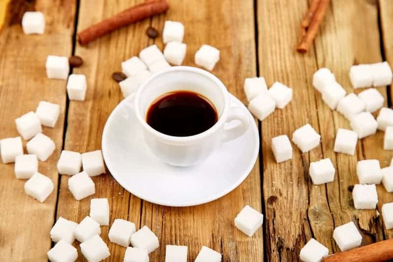 swaping sugar for salt in coffee