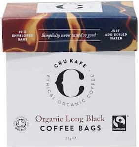 CRU Kafe Organic Coffee Bags
