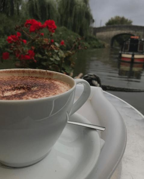 Cafe on the Barge Bathampton