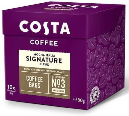 Costa Mocha Italia Signature Blend Coffee Bags