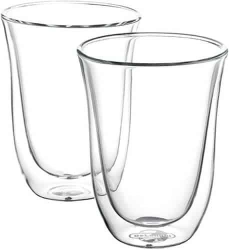 De'Longhi Latte Macchiato Thermo Glasses