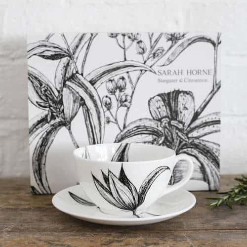 Fine Bone China Cappuccino Cup And Saucer