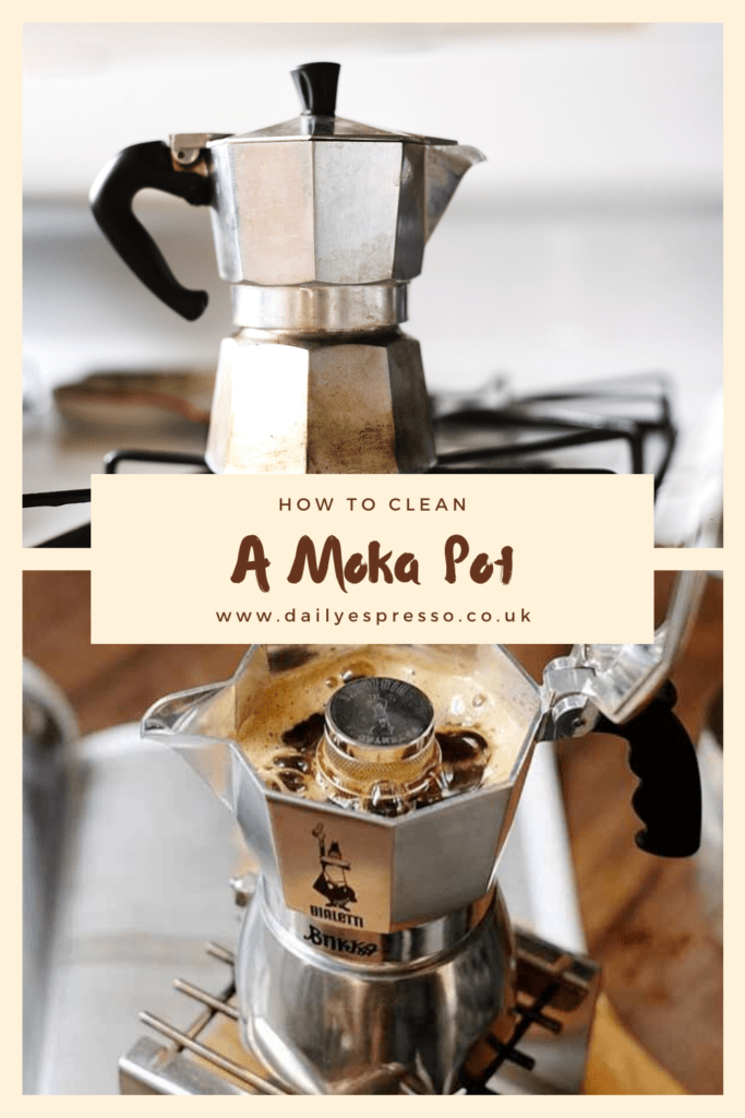 How to clean moka pot