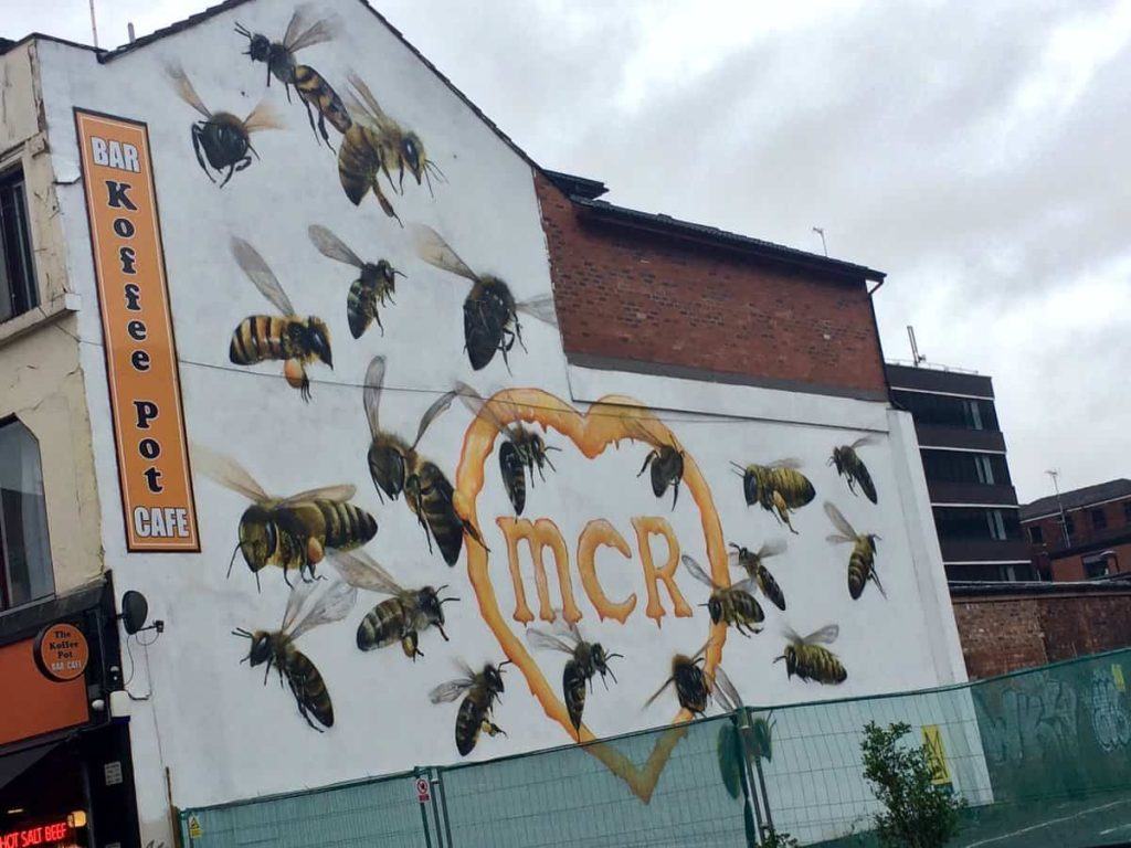 Manchester Bee Mural