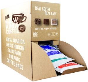 New Kings Coffee Fresh Ground Coffee Bags