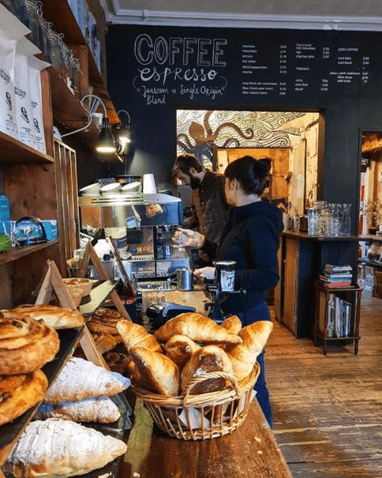 best artisan coffee edinburgh