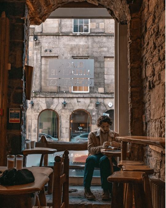 coolest coffee shop edinburgh