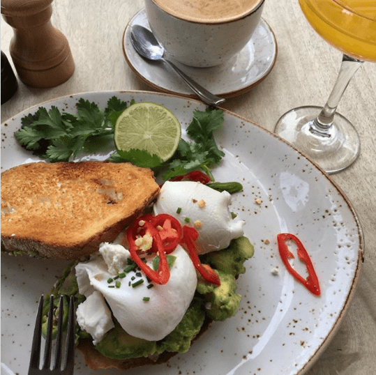 best manchester cafe for food
