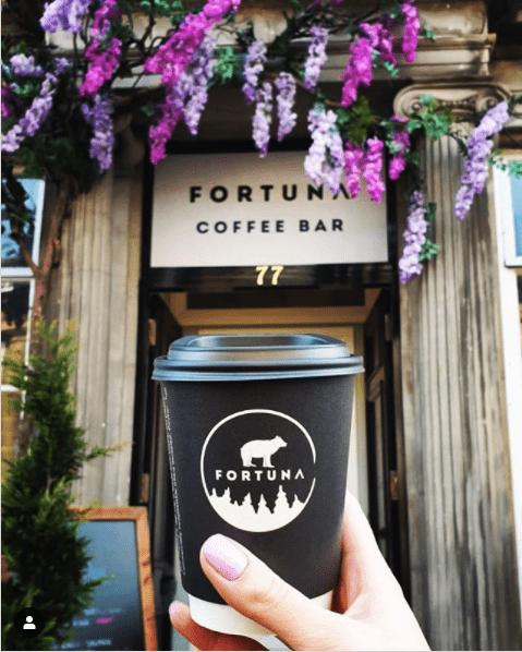 prettiest coffee edinburgh