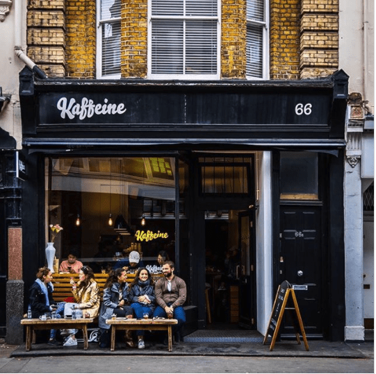 popular coffee shops london