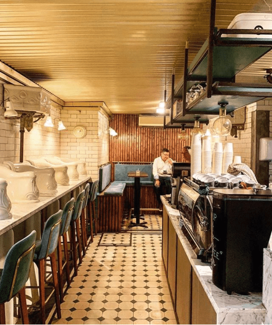 quirky london coffee shops
