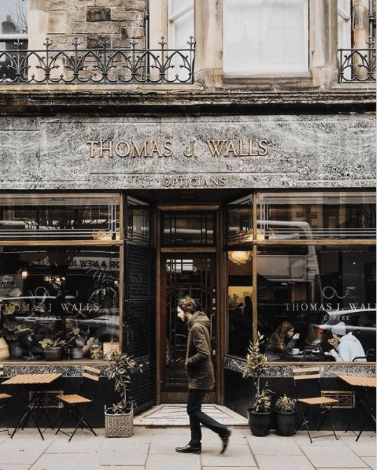 quirkiest coffee shop edinburgh