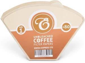 Edesia Espress Coffee Filter Paper Cone