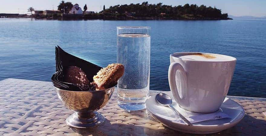 Greek Coffee Serving