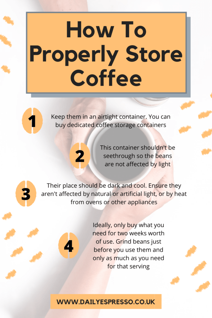 How To Properly Store Coffee Beans