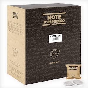 Note d'Espresso Espresso Coffee Paper Pods  (ESE Pods)