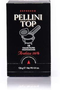 Pellini Top 100% Arabica Coffee Pods  (ESE Pods)