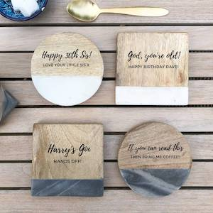 The Rustic Dish Personalised Coffee Gift