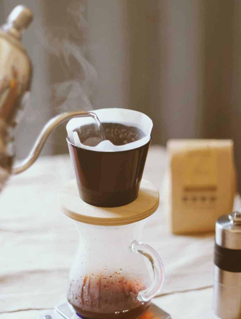 Pour Over Coffee Using Single Origin