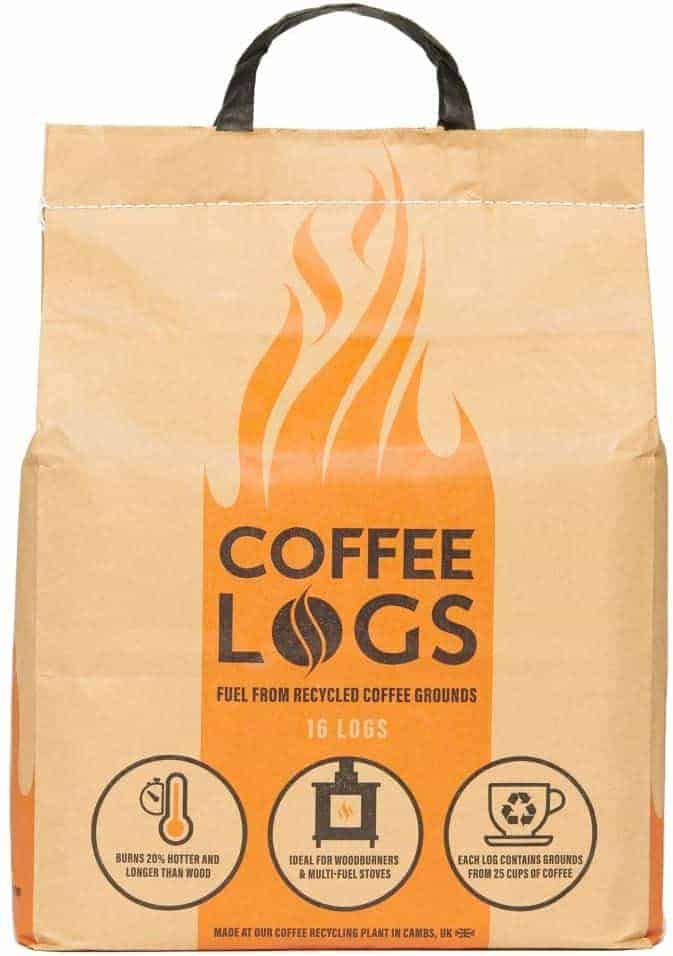 bio-bean coffee logs