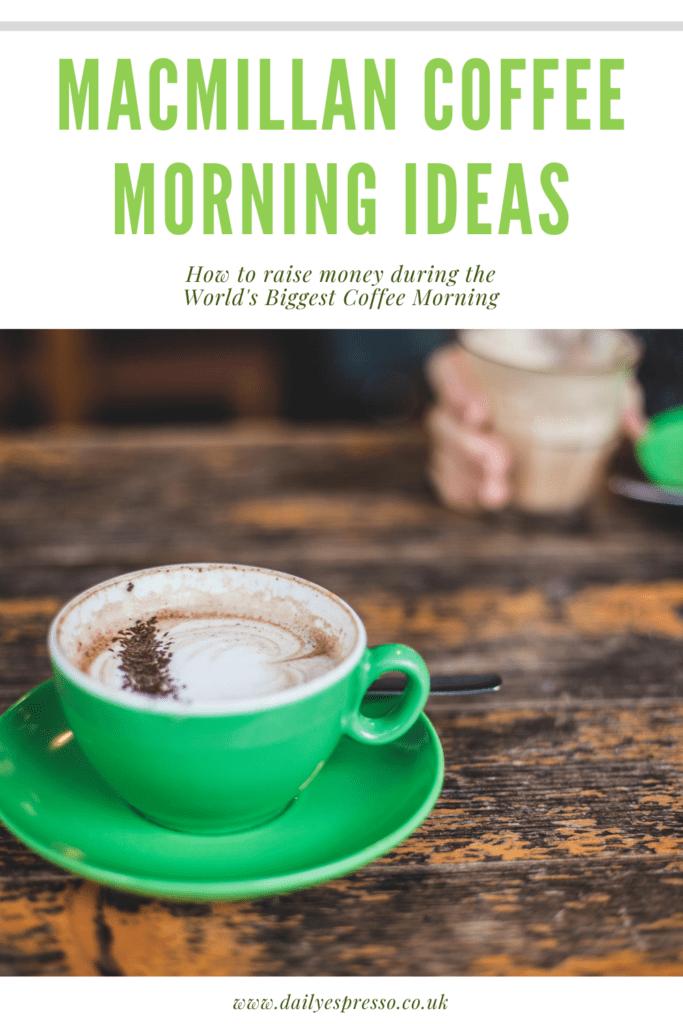 macmillan coffee morning ideas