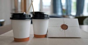 Coffee Cup Recycling Bins Train Stations