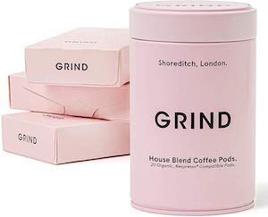 Grind Organic Coffee Capsules
