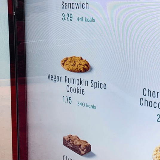 Starbucks Pumpkin Menu Autumn