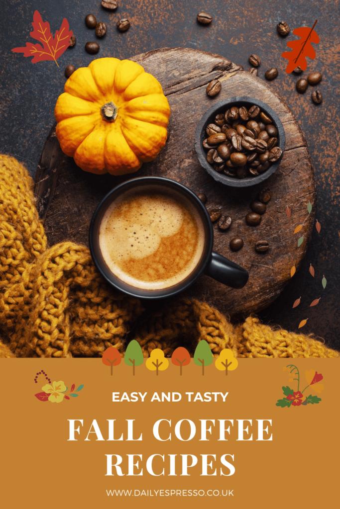 fall coffee recipes