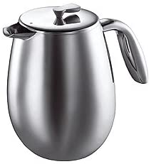 Bodum Columbia Double Wall Coffee Maker, Stainless Steel