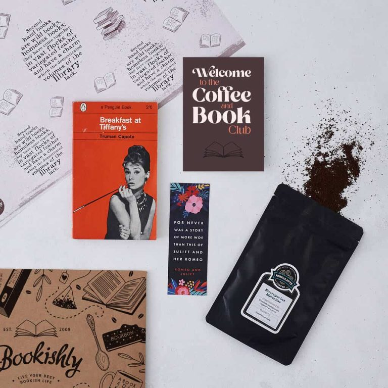 Bookishly's Coffee And Book Club Subscription