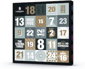 Café Royal Coffee Advent Calendar With Nespresso Pods