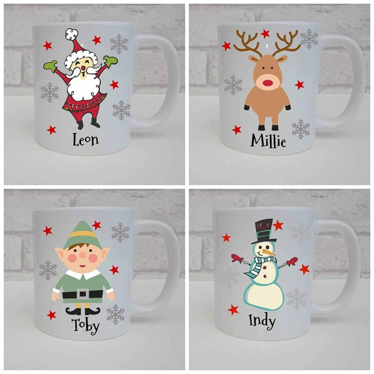 HH Designs Personalised Christmas Coffee Mug