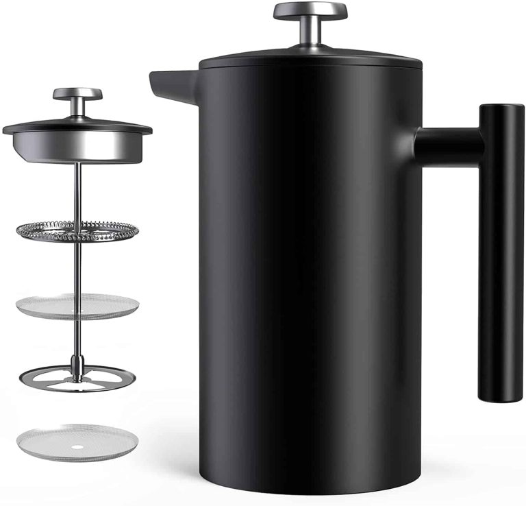 Hom Geek's Stainless Steel French Press