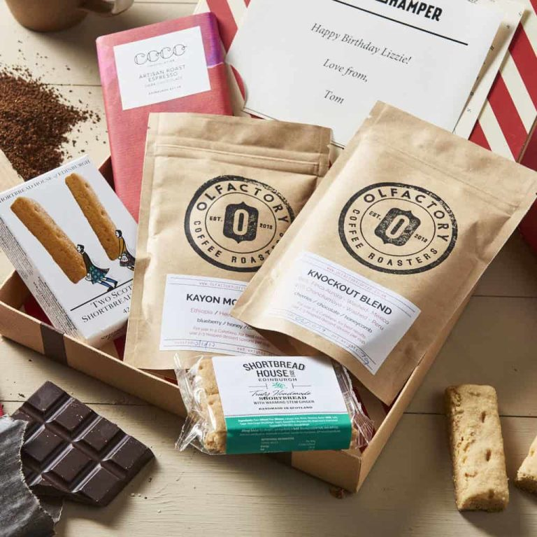 Letter Box Hamper's Personalised Coffee