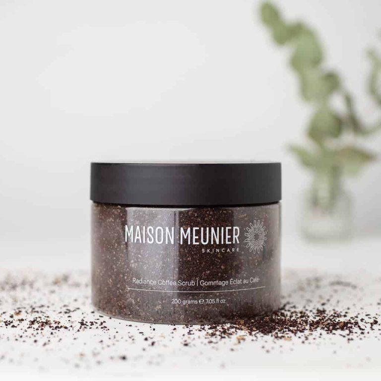 Maison Meunier's Radiance Coffee Scrub