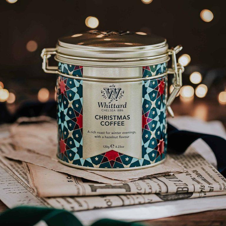 Whittard's Christmas Coffee Clip-Top Tin