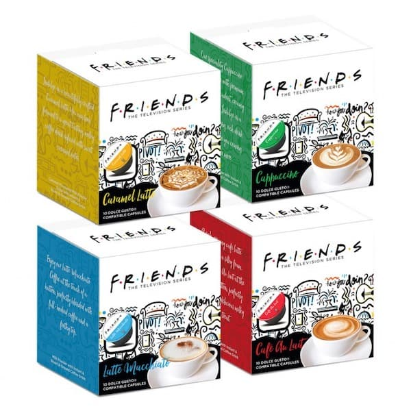 friends dolce gusto pods