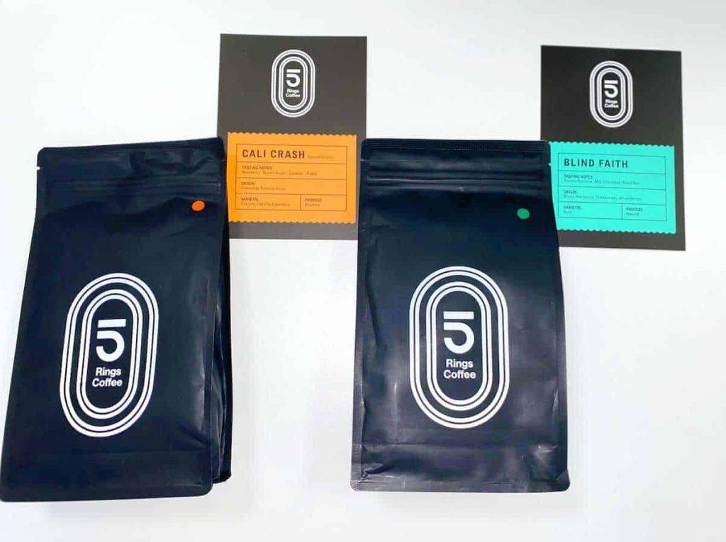 5 Rings Coffee Bags
