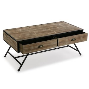 Brookins Coffee Table with Storage